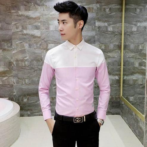 Radiant Pink Colored Casual Wear Pure Cotton Shirt