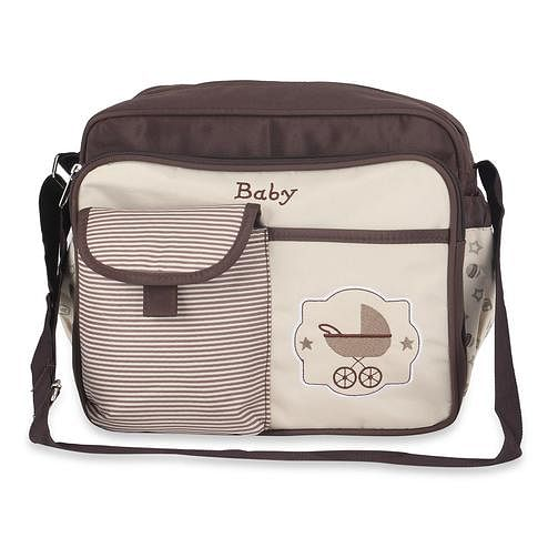 NFI essentials - Baby Mother Bag (Brown)
