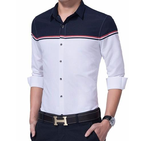 Energetic White Colored Casual Wear Pure Cotton Shirt