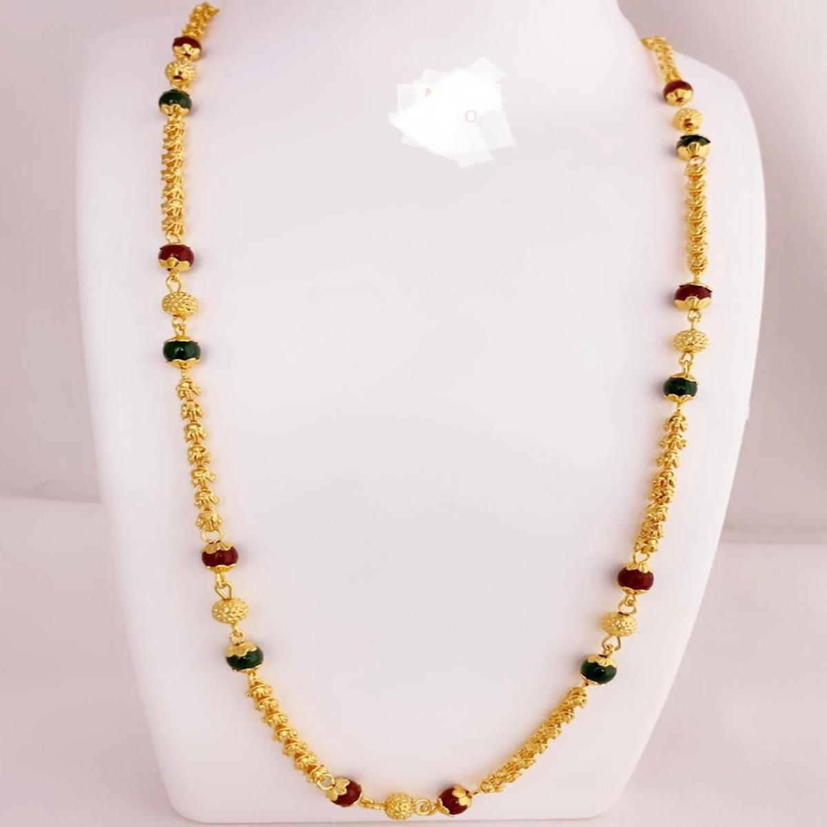 Preferable Gold Plated Pearl Copper Necklace