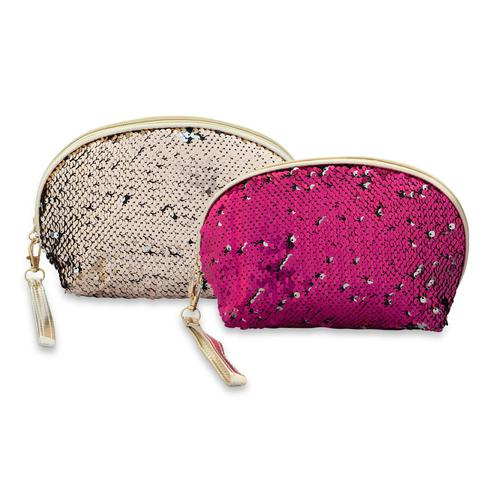 NFI Essentials - Pack of 2 Sequin Cosmetics Pouch