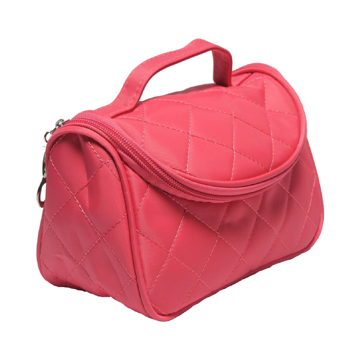NFI essentials - Solid Cosmetic Pouch (Light Pink)