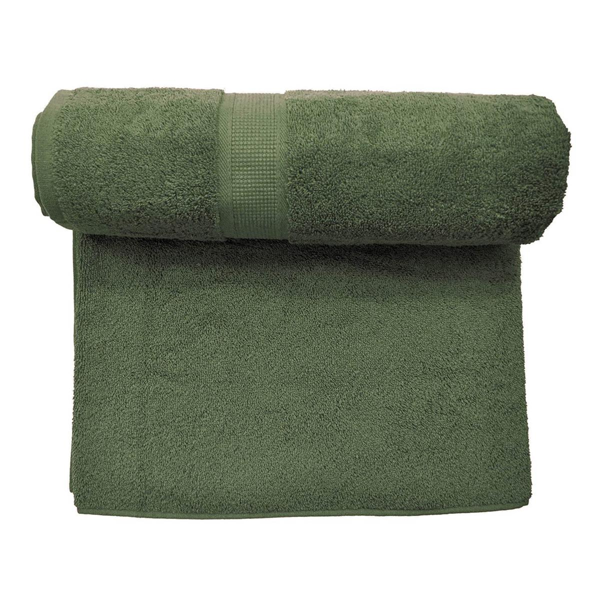 Bombay Dyeing Santino Pre Dyed 550 GSM Cotton Towel - Green