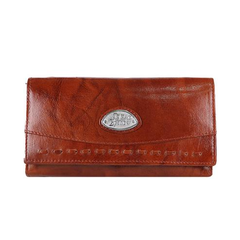 Lelys - Stylish Leather Wallet - Brown