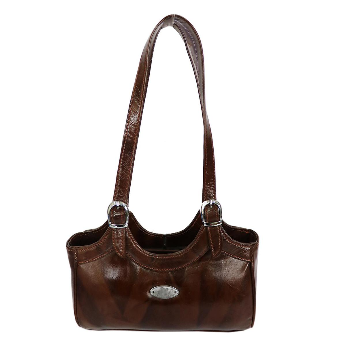 Lelys - Rich Quality Leather Hand Bag For Women/Girls - Brown