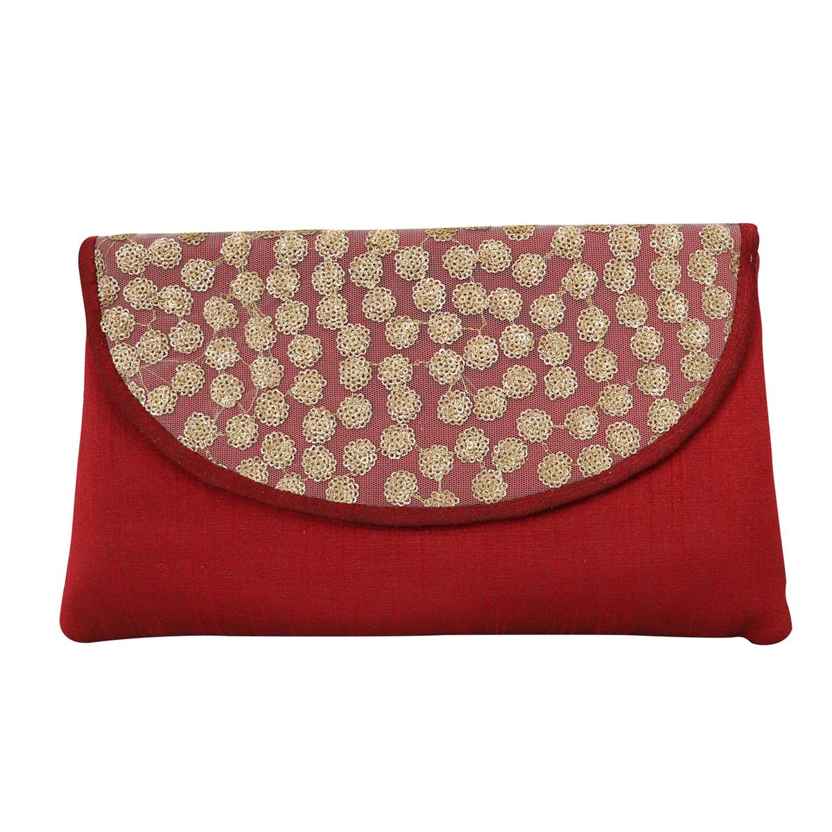 Lelys - Handcrafted Designer Clutch For Party/Function