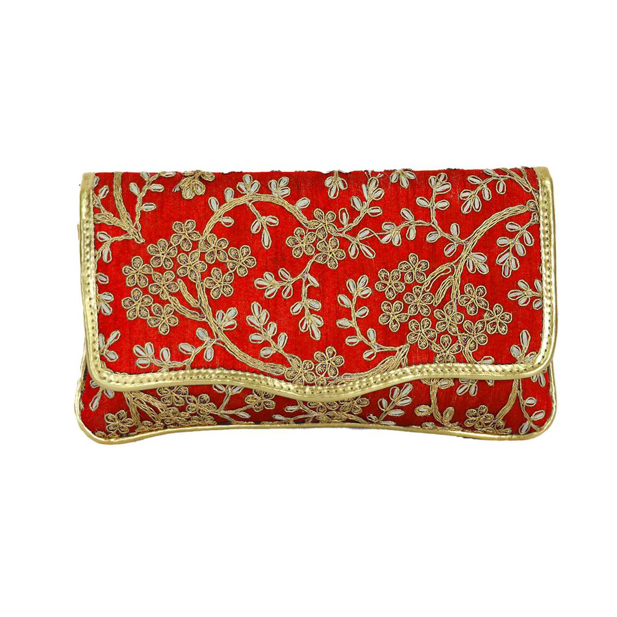 Lelys - Ethnic Design Party Clutch For Women