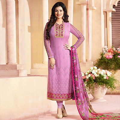 Pink Party Wear Salwar Suit