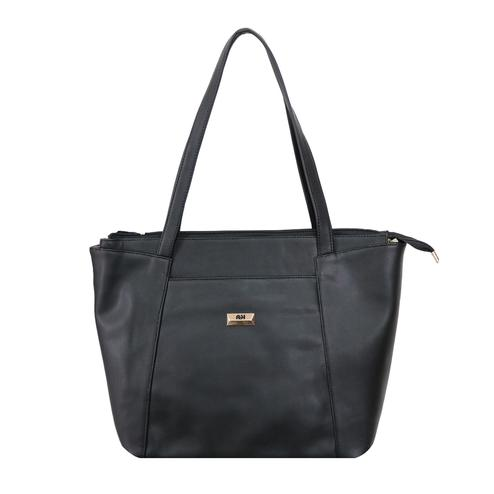 Lelys - Modern Leather Hand Bags (Black)