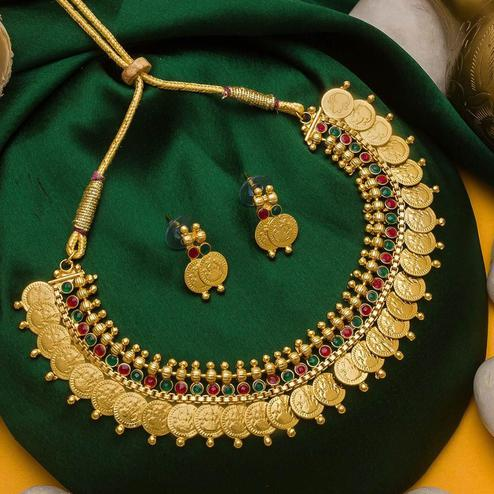 CRK WORLD - Beautiful South Indian Jewellery Set