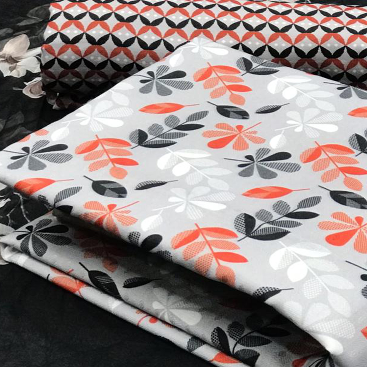 Gorgeous Light Grey Colored Casual Wear Printed Pashmina Dress Material