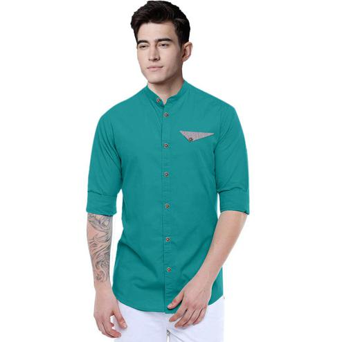 IndoPrimo - Rama Colored Casual Wear Pure Cotton Shirt