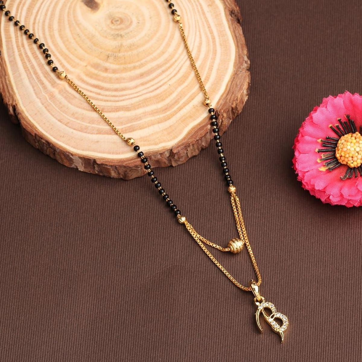 Vihaa Jewels - Alloy Traditional Mangalsutra For Women