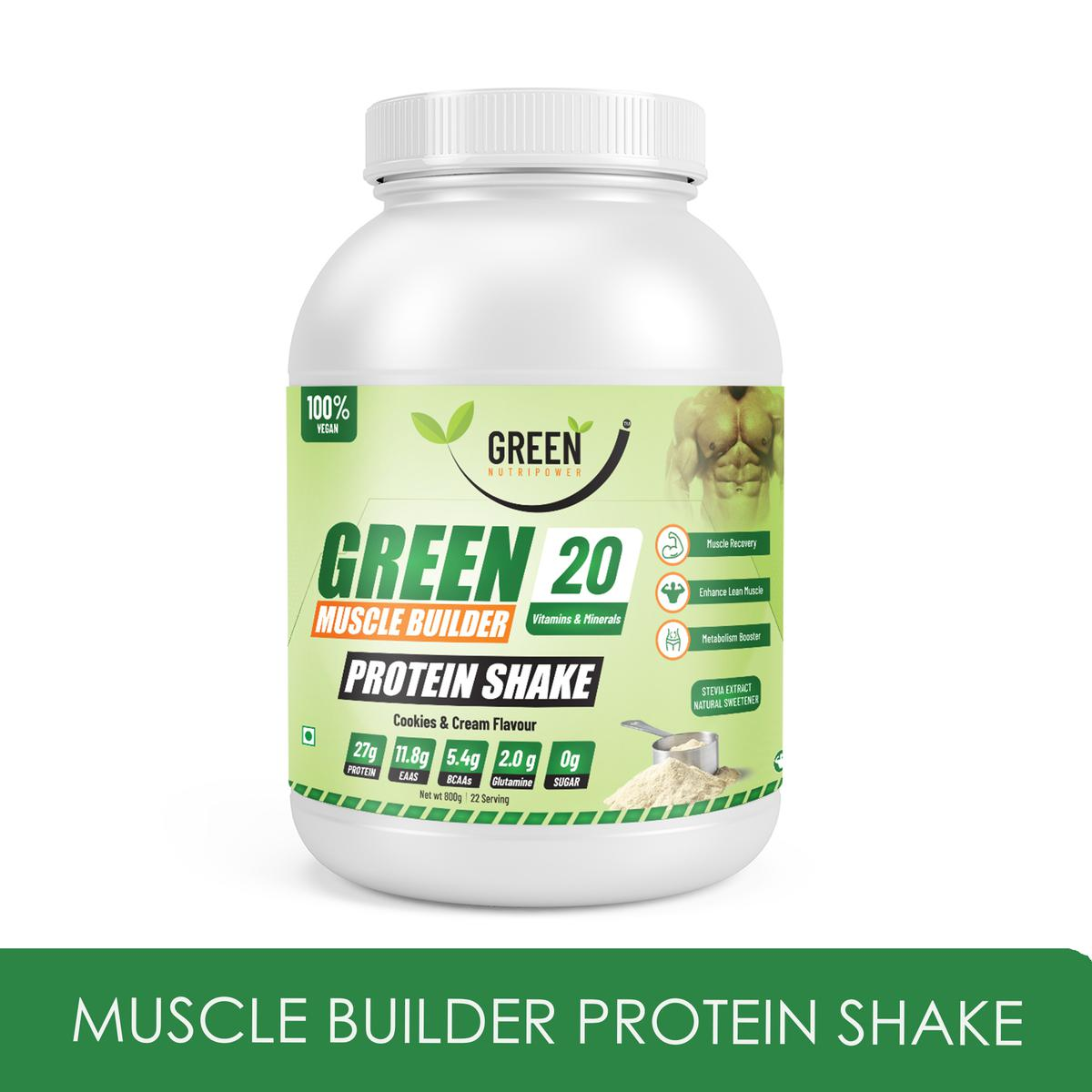 Green Nutripower - Muscle Builder Protein Shake