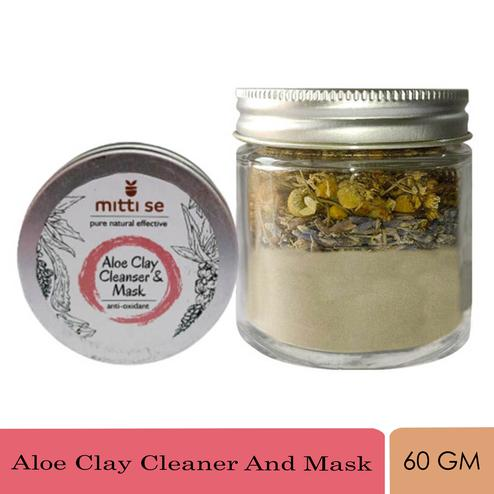 GOLI SODA - Aloe Clay Cleaner And Mask 60G