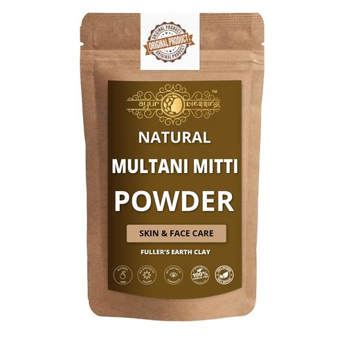 Ayur Blessing - Multani Mitti Powder, For Face Pack and Skin Care