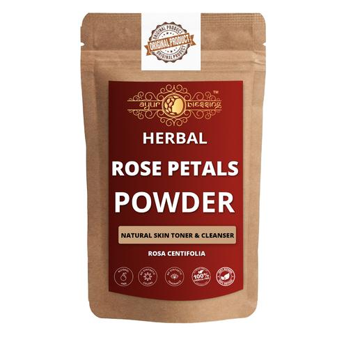 Ayur Blessing - Rose Petals Powder, For Face Pack and Skin Care
