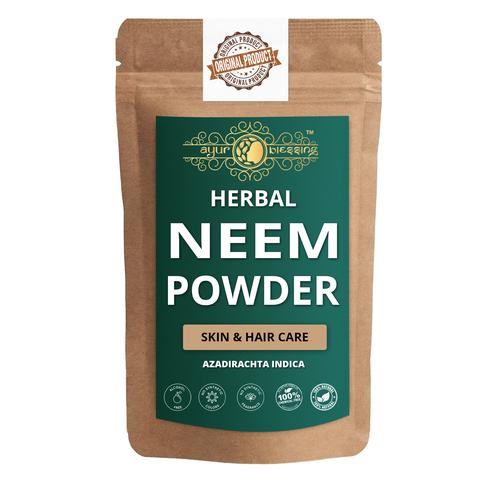 Ayur Blessing - Neem Powder, For Face Pack and Skin Care