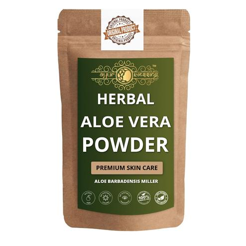 Ayur Blessing - Aloe Vera Leaf Powder, For Face Pack and Skin Care