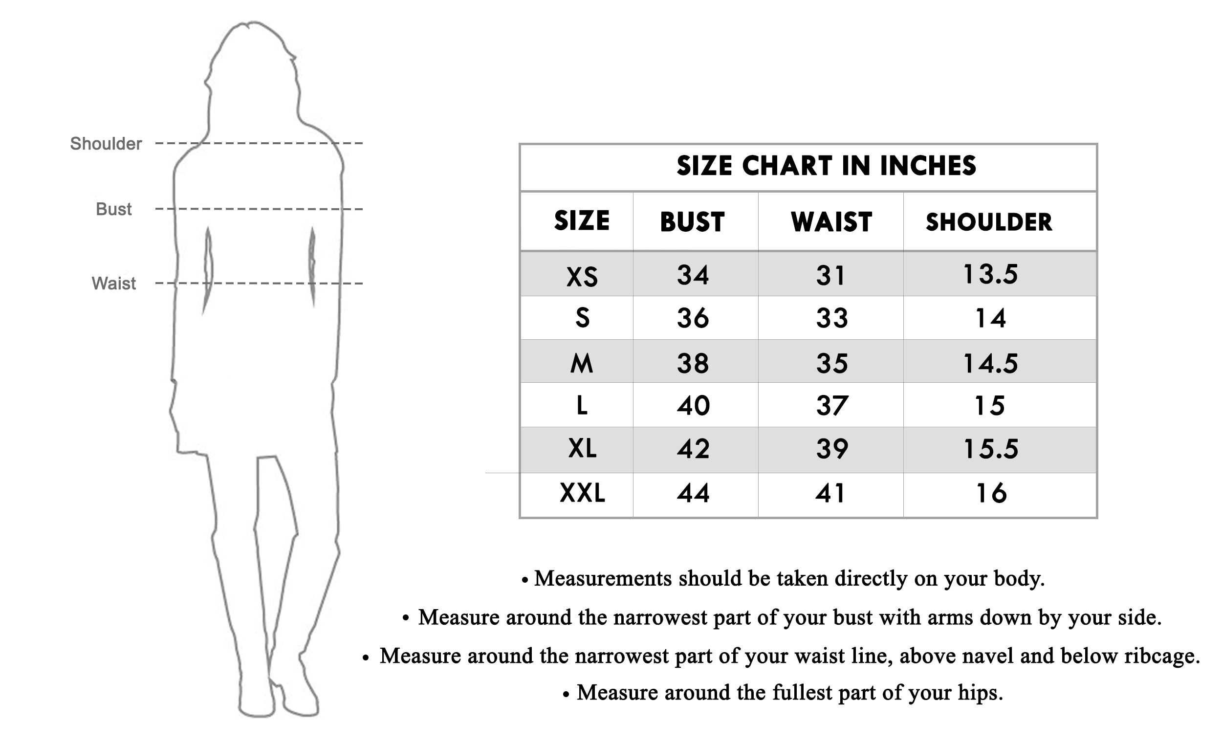 Size chart for - Glorious Pink Colored Casual Wear Printed Straight Calf Length Rayon Kurti