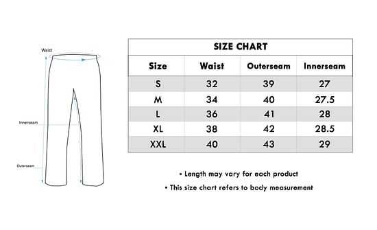 Size chart for - Alluring White Colored Casual Wear Rayon Palazzo
