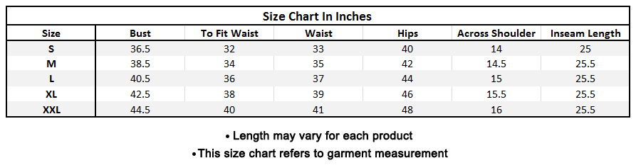 Size chart for - Glorious Off White Colored Casual Printed Cotton Tunic
