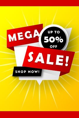Sale upto 15% Off